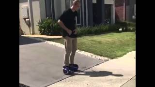 Riding QBOARD™ Q6 airboard first time