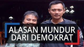 Alasan Roy Suryo Mundur dari Partai Demokrat dan Keinginan Kembali Jadi Pengamat Multimedia