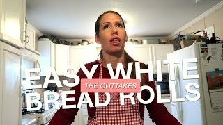 EASY WHITE BREAD ROLLS | The Outtakes
