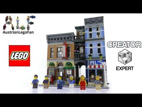 Vidéo LEGO Creator 10246 : Le bureau du détective