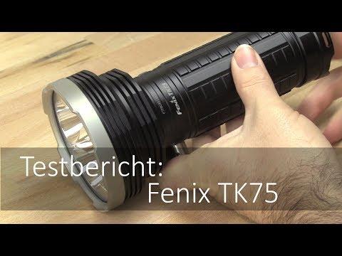 Die Fenix TK75 im Taschenlampen Test