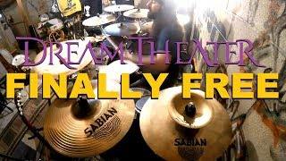 DREAM THEATER - FINALLY FREE (With Drum Solo Ending) - DRUM COVER BY GLEN MONTURI