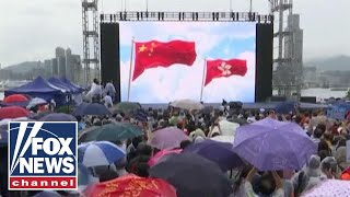 Pro Democracy, Pro Government Stage Dueling Protests In Hong Kong