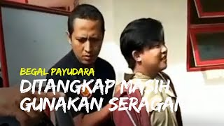 Pelaku Begal Payudara di Bondowoso Ditangkap Polisi saat Masih Kenakan Seragam Dinas