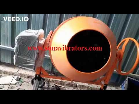 Mini Concrete Mixer 260 Ltr