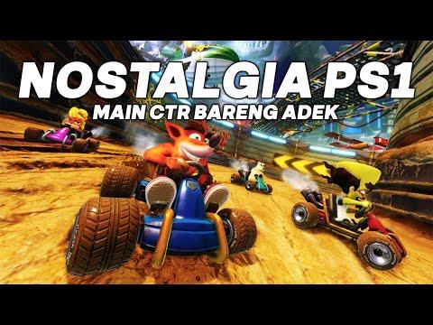 Nostalgia Main Game Balap PS 1 - Crash Team Racing Indonesia - #1