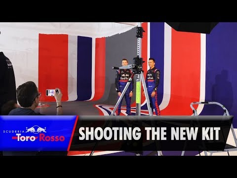 Image: WATCH: Lights, camera, action with Toro Rosso