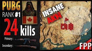 PUBG Rank 1 - Kaymind 24 kills [NA] SOLO FPP - PLAYERUNKNOWN
