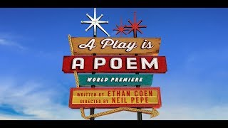 Ethan Coen returns to the theater with 'A Play is a Poem'