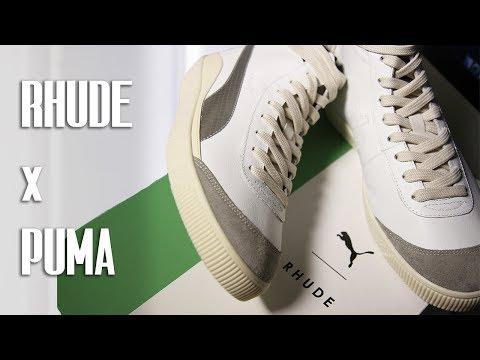 RHUDE x PUMA REVIEW   BASKET 68 OG MID
