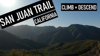 Climb and descend on San Juan Trail.