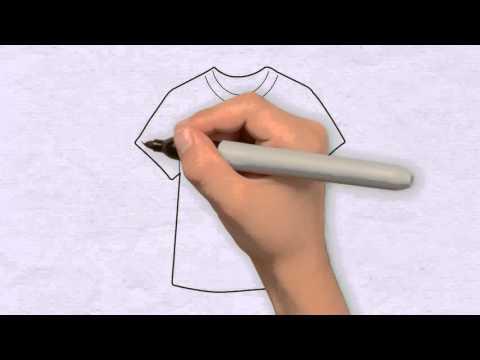 T-Shirt Zeichnen in 50s - Zeichnen lernen für anfänger & kinder ★ Wie zeichnet man