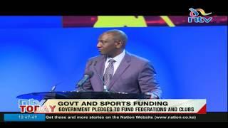 Ruto: State's Sh500m to fill sponsorship gap - VIDEO