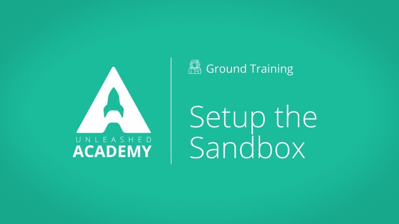 Setup the Sandbox YouTube thumbnail image