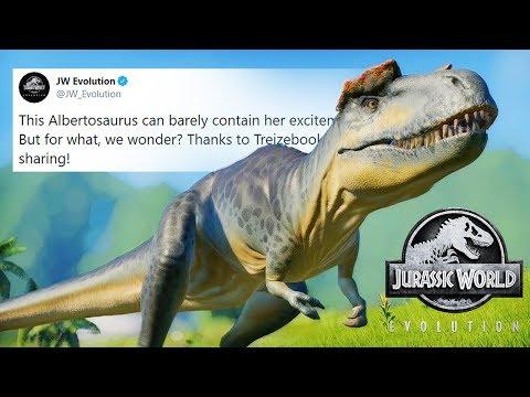 NEW Update Hinted At? Jurassic World: Evolution Twitter Speculation!