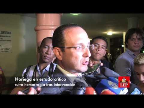 Noriega en estado crítico, sufre hemorragia tras intervención