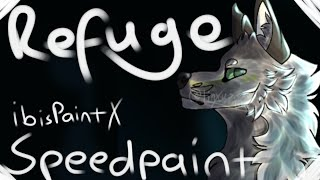 Art #9 | Refuge | OC Speedpaint