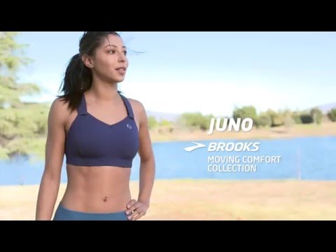 Brooks Moving Comfort Collection | Juno Sports Bra