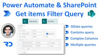 Power Automate OData Filter Query flow for SharePoint list