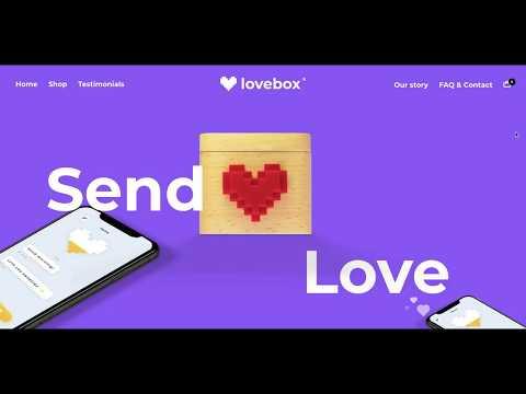 صندوق الحب - رسائل بنمط البكسل آرت