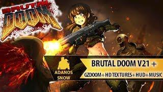 Brutal DOOM v21 GOLD ⛧ Linear DOOM v1 1 7 / Episode 3