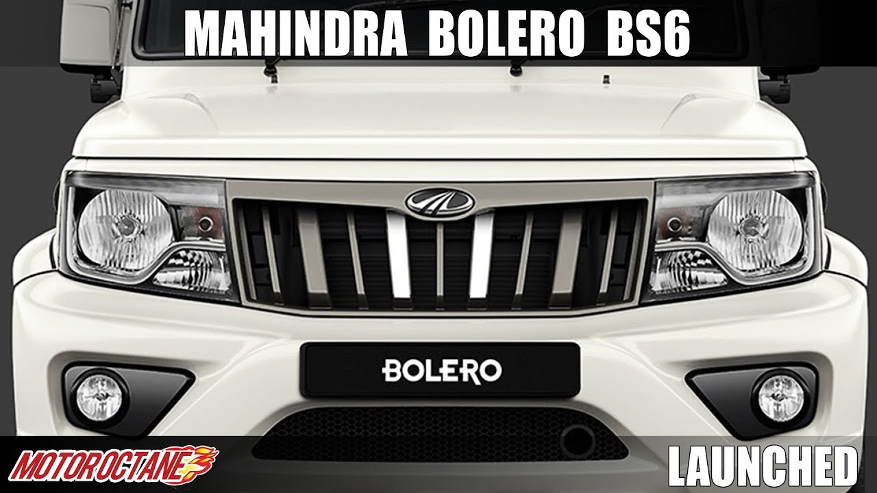Motoroctane Youtube Video - 2020 Mahindra Bolero BS6 Launched | Hindi | MotorOctane