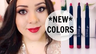 3 NEW ELF Matte Lip Colors! | Lip Swatches And Review
