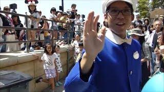 泣いた!?(笑) ファンカスト・ミネザキさん 2017.06.03 TDS ディズニーシー ディズニーイースター