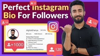 How To Create AMAZING Instagram Bio (TO GET MORE FOLLOWERS)
