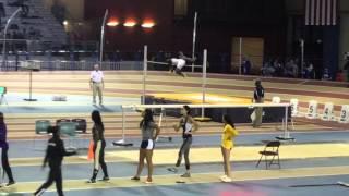 Tyrie Adams SoCon High Jump Champion 2016
