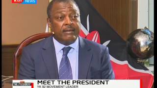 Former Lugari MP, AFC Leopards Chairman and YK92 Movement leader-Cyrus Jirongo: Meet The President