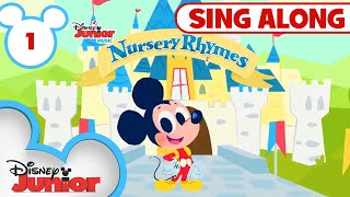 Sing-Along Nursery Rhymes Part 1 | 🎶 Disney Junior Music Nursery Rhymes | Disney Junior