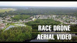 Mavic Pro Aerial Video of a Race Drone in Tampa, FL