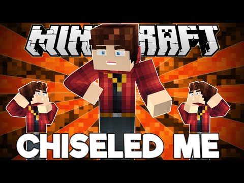 Minecraft: BECOME TINY OR A GIANT! Chiseled Me Mod Showcase