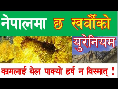||URANIUM IN NEPAL|| MINE AND MINERALS IN NEPAL || GENERAL KNOWLEDGE|| नेपालमा युरेनियम ||
