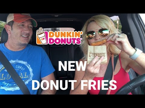 Dunkin' Donuts NEW DONUT FRIES
