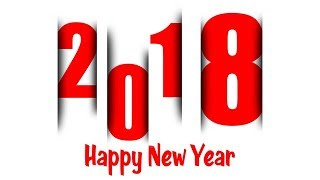 how to create new year greeting card in photoshop 2018
