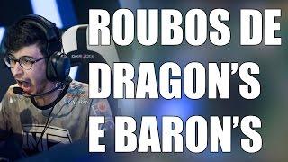 ROUBOS DE DRAGON'S E BARON'S | RETROSPECTIVA ALEATÓRIA #3