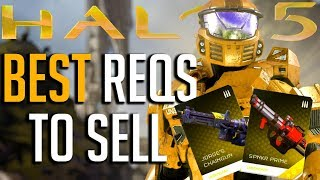 The Best Reqs to Sell in Halo 5 Guardians
