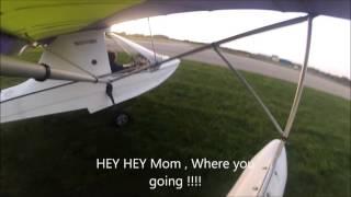 Aventura UL Flying 2015 Mom taxi at Dunkirk 10 10 15