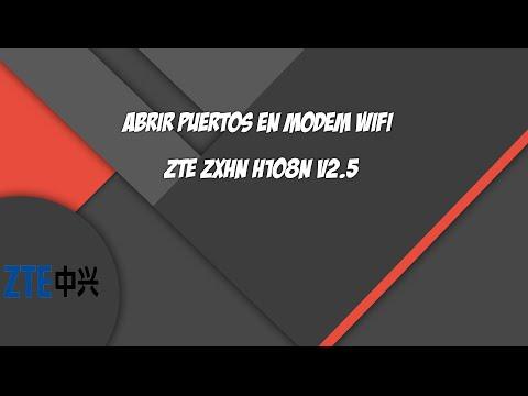 ZTE ZXHN H108N V2 5 Modem Configuration - English - смотреть онлайн