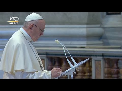 Bénédiction Urbi et Orbi pour Pâques, le 12 avril 2020