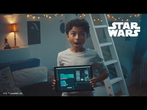 Leo takes on The Empire, with Kano's Star Wars The Force™ Coding Kit