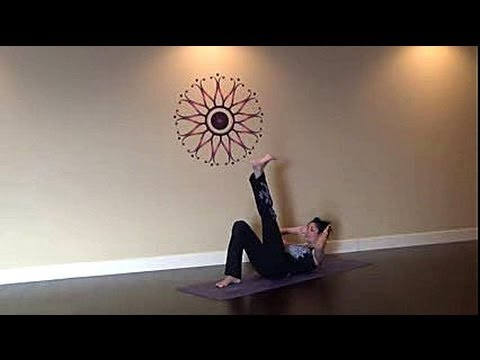 10 min. Yoga Belly Blast for the Holidays