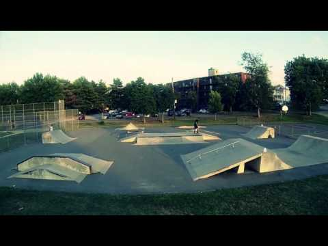 Quincy Skate Park Drone