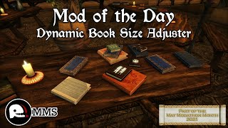 Mod of the Day EP57 - Dynamic Book Size Adjuster Showcase