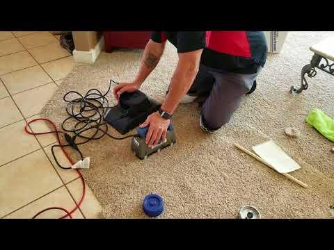 Doing A Bonded Insert Carpet Repair