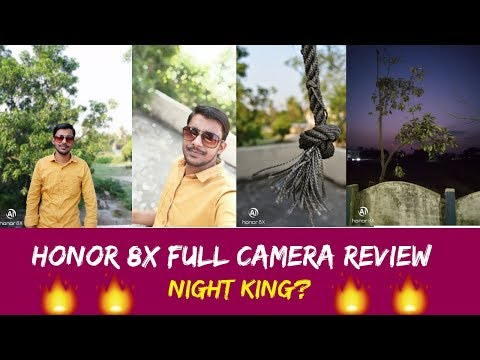 Honor 8x Full Camera Review | Super Slow Motion, Night King? |  Realme 2 Pro Killer?