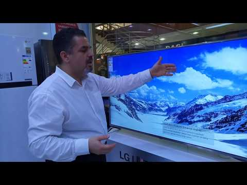 LG 55UJ651V 4K ( UHD ) ULTRA HD SMART WEBOS 3.5 4K UYDU ALICILI TV TANITIM VE İNCELEME
