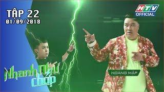 HTV NHANH NHƯ CHỚP | Trường Giang cho đây là lý do Khả Như ế lâu năm | NNC #22 FULL | 1/9/2018